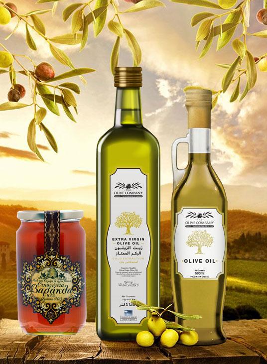 Greek Honey, Olive oil, herbs